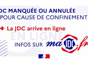 La JDC est accessible en ligne